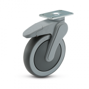 Avant 6-inch Top Plate Swivel Caster with Total Lock Break (US)