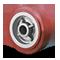 E-Line Thermo-Urethane Maroon-on-Grey Tread