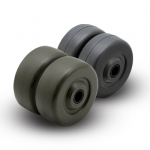 00 Series Hard and Soft Rubber Wheels