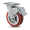 E-Line Total Lock Brake - Integrated into Swivel Fork