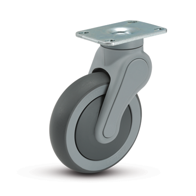 Avant Top Plate Swivel Caster
